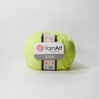Пряжа YarnArt Jeans (58 салатовый)