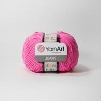 Пряжа YarnArt Jeans (59 ярко-розовый)