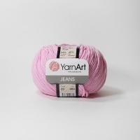 Пряжа YarnArt Jeans (20 яр.розовый)