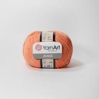 Пряжа YarnArt Jeans (23 коралловый)
