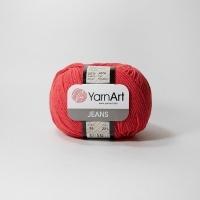 Пряжа YarnArt Jeans (26 красный)