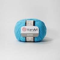 Пряжа YarnArt Jeans (33 яр.бирюза)