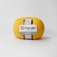 Пряжа YarnArt Jeans (35 желтый)