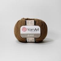Пряжа YarnArt Jeans (40 коричневый)