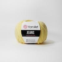Пряжа YarnArt Jeans (88 светло-жёлтый)