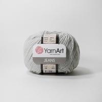 Пряжа YarnArt Jeans (49 серый)