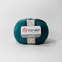 Пряжа YarnArt Jeans (63 т.бирюзовый)