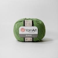 Пряжа YarnArt Jeans (69 трава)