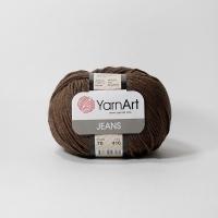 Пряжа YarnArt Jeans (70 коричневый)