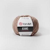 Пряжа YarnArt Jeans (71 св.коричневый)