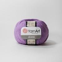 Пряжа YarnArt Jeans (72 сиреневый)