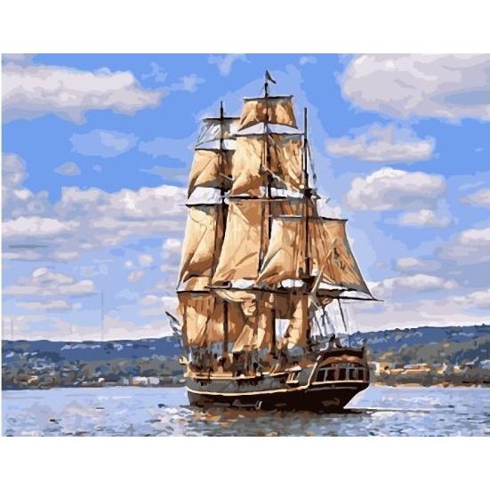 Картина по номерам GX 26061 Морской пейзаж 40х50 см