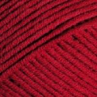 Пряжа YarnArt Jeans Plus (51 тёмно-красный)