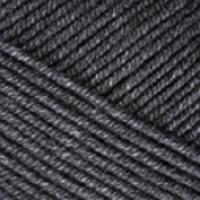 Пряжа YarnArt Jeans Plus (28 тёмно-серый меланж)