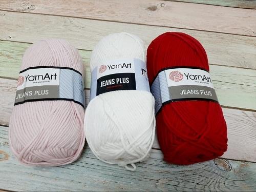 Пряжа YarnArt Jeans Plus