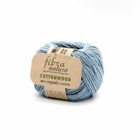 Пряжа Cottonwood Fibranatura (41104 голубой)