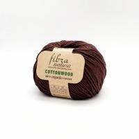 Пряжа Cottonwood Fibranatura (41131 т.коричневый)