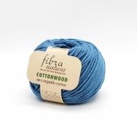 Пряжа Cottonwood Fibranatura (41128 голубая бирюза)
