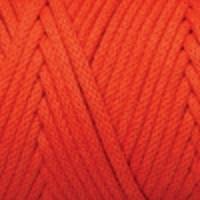 Пряжа YarnArt Macrame Cord 3 mm (800 ярко-оранжевый)