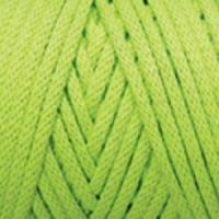Пряжа YarnArt Macrame Cord 3 mm (801 ярко-салатовый)
