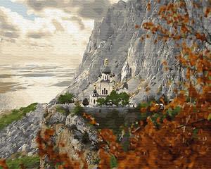 Картина по номерам GX28913 Храм на горе