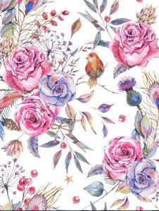 Картина по номерам ME1120 Нежные цветы