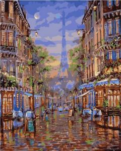 Картина по номерам MG2095 Монмартр Париж