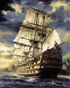 Картина по номерам MG519 Большое плавание