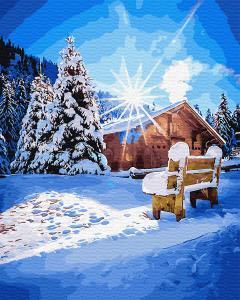 Картина по номерам GX31645 Морозное утро