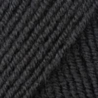 Пряжа YarnArt Merino De Luxe 50 (585 черный)