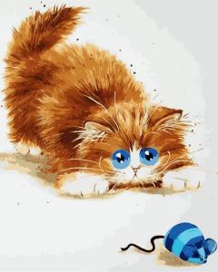 Картина по номерам ME1073 Кошки - мышки