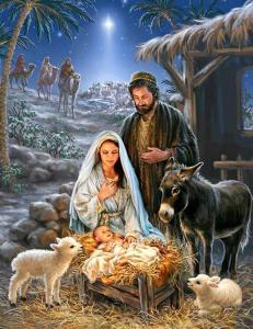 Картина по номерам MG2152 Рождество Христово
