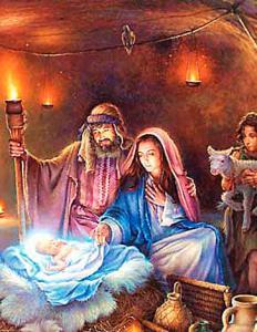 Картина по номерам MG2156 Рождение Иисуса Христа