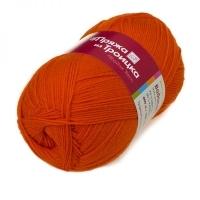 Пряжа Троицкая Водопад (0493 я. оранжевый)