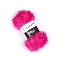 Пряжа YarnArt Samba (2012 ярко-розовый)