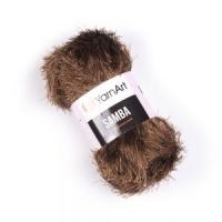 Пряжа YarnArt Samba (2034 коричневый)
