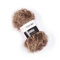 Пряжа YarnArt Samba (99 коричневый)