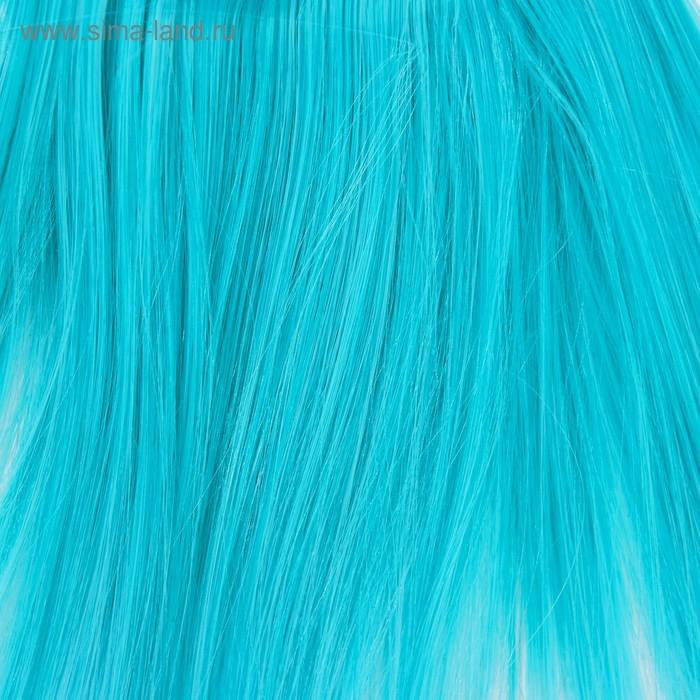 Волосы - тресс для кукол Прямые длина волос 15 см, ширина 100 см, №LSA047   3588449