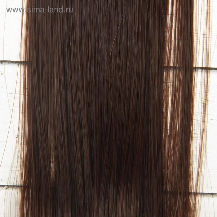 Волосы - тресс для кукол Прямые длина волос 40 см, ширина 50 см, №4 2294389