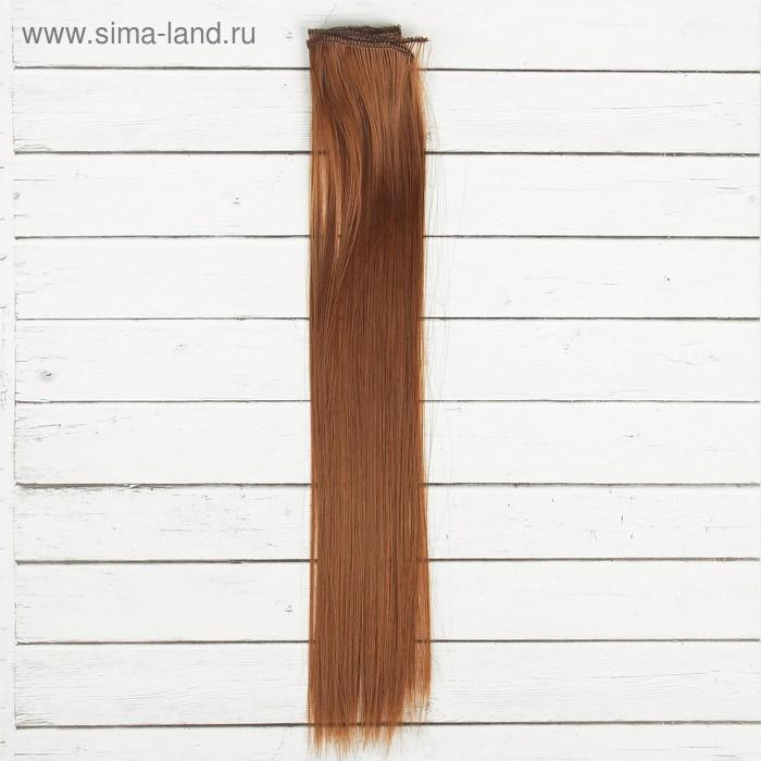 Волосы - тресс для кукол Прямые длина волос 40 см, ширина 50 см, №12 2294385