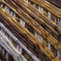Пряжа YarnArt Summer (123 м. коричневый/белый)