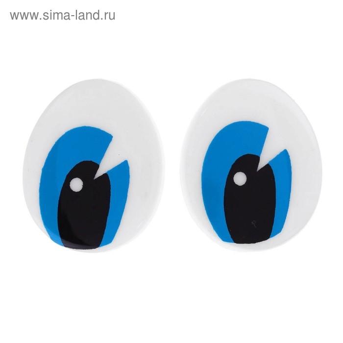 Глаза винтовые с заглушками, 2,7х2,2 мм 1553437