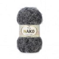 Пряжа Nako Paris Simli (21305 серый меланж)