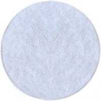 Фетр листовой Астра 1 мм 20х30см, белый, 1 шт