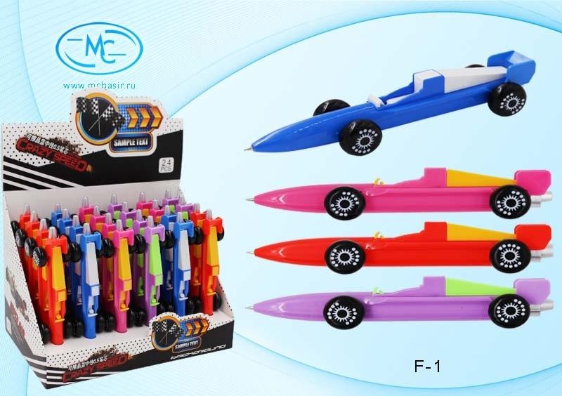 Ручка сувенирная машинка Crazy Speed