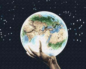 Картина по номерам GX26729 Мир на ладони