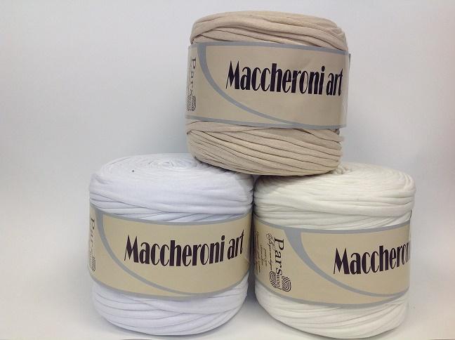 Пряжа  Maccheroni Art однотонная