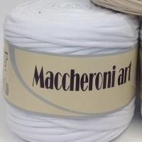 Пряжа  Maccheroni Art однотонная (Пряжа Maccheroni Art, цвет 1-1)