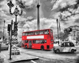 Картина по номерам GX8246 Лондонский автобус