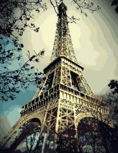 Картина по номерам GX3509 Эйфелева башня